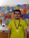 Ondřej Bartoš se zlatou medailí