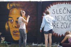 Gymnázium street art