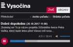 Dobré dopoledne: Zkoleduj se! To je název projektu žďárského herce Petra Vaňka...