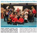 Alice in Gymzrland aneb Alenka přijela do Žďáru