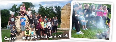 Česko – německé setkání studentů červenec 2016