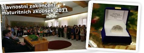 Slavnostní zakončení maturitních zkoušek 2011