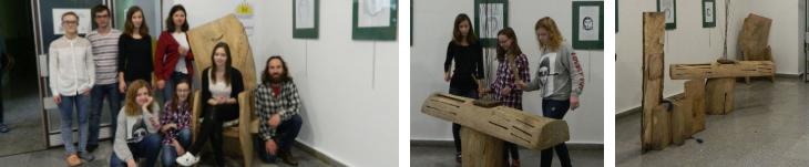 První dotek dřeva